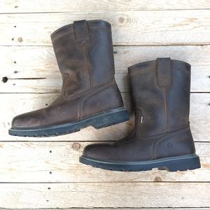 Wolverine Waterproof Leather Boots